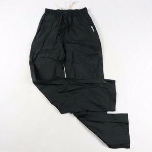 Vintage New Umbro Nylon Rain Pants Black Small